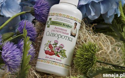 Aktywne serum ziołowe na porost włosów Receptury Babuszki Agafii – Recenzja sanaja