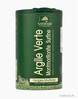 Zielona glinka montmorylonitowa w proszku 300gl