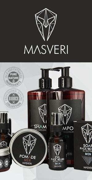 Masveri - naturalne kosmetyki dla mężczyzn