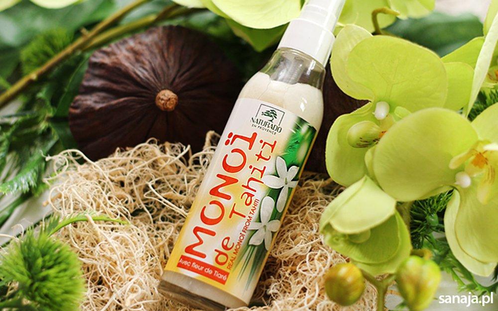 Olej monoi de thaiti Naturado - Recenzja Sanaja