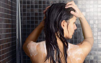 mycie włosów metodą OMO - sanaja