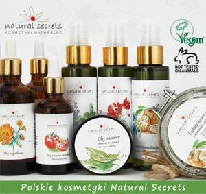 Natural Secrets - Polskie, hipoalergiczne kosmetyki naturalne
