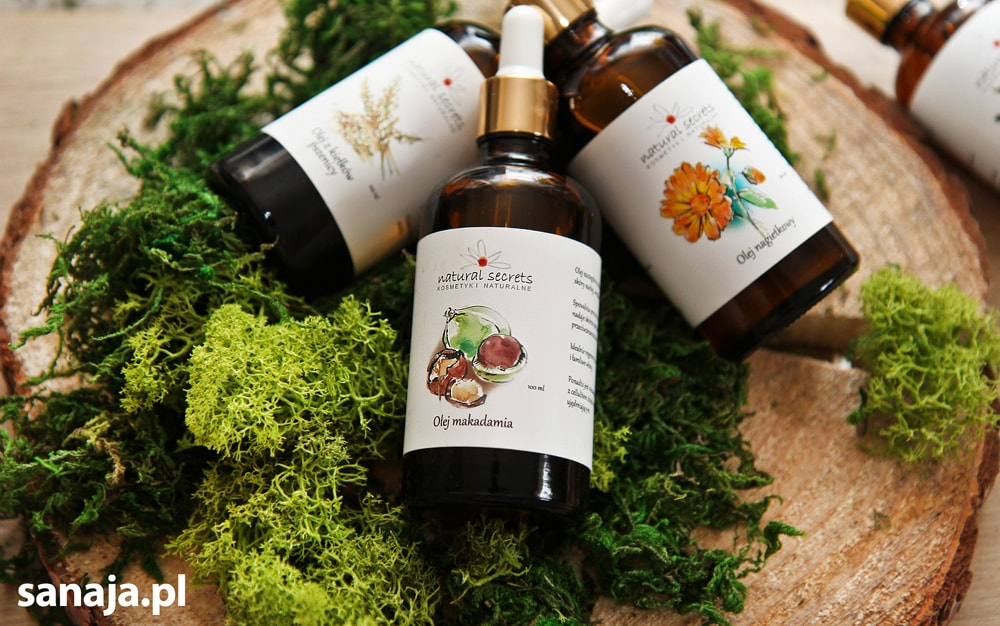 Naturalne olejki kosmetyczne Natural Secrets