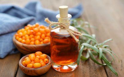 olej rokitnikowy - właściwości i zastosowanie w kosmetyce - sanaja