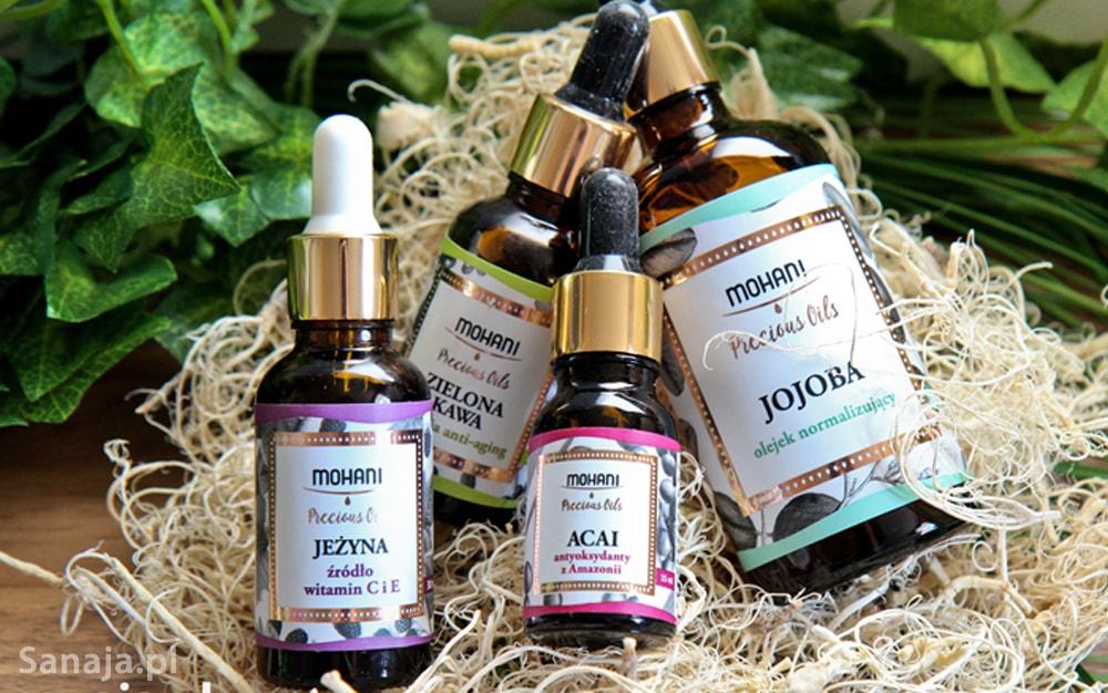 5 rodzajów oleju do olejowania włosów - sanaja
