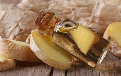 olejek imbirowy - właściwości i zastosowanie w kosmetyce - sanaja