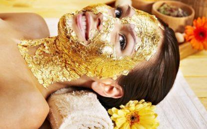 Pilęgnacja skóry złotem