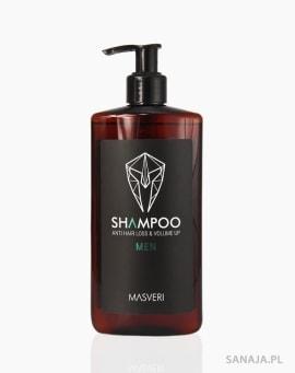 Szampon bez SLS przeciw wypadaniu włosów - Masveri