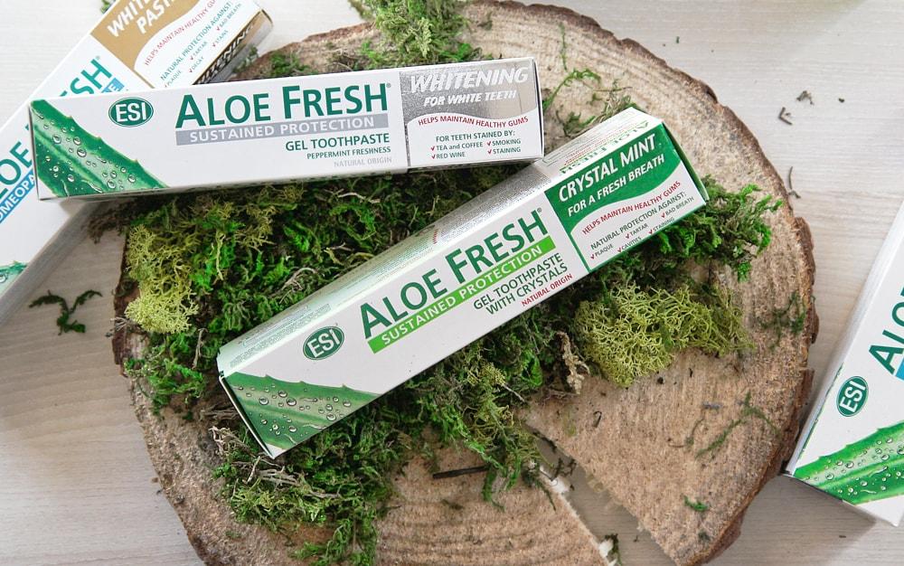 Naturalne pasty do zębów bez fluoru - sanaja