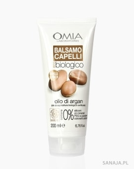 Balsam do włosów z olejkiem arganowym, OMIA Laboratoires 200ml