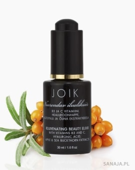 JOIK - ANTI AGE odmładzające serum z kwasem hialuronowym, witaminami B3 i C oraz ekstraktami z jabłka i rokitnika