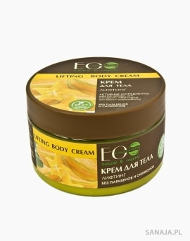 Liftingujący krem do ciała - masło shea, masło kakowe, olej migdałowy