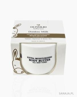 Masło do ciała z organicznym oślim mlekiem 250ml Olivolio