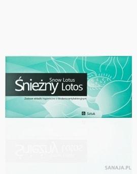 Śnieżny Lotos - Ziołowa wkładka higieniczna o działaniu antybakteryjnym (6 wkładek)