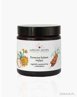 Kremowy balsam do demakijażu cytrusowy 100g - Natural Secrets
