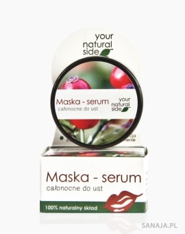 Maska – serum całonocne do ust - Your Natural Side